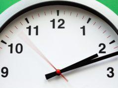 Foto einer Uhr zur Darstellung des Zeitablaufes